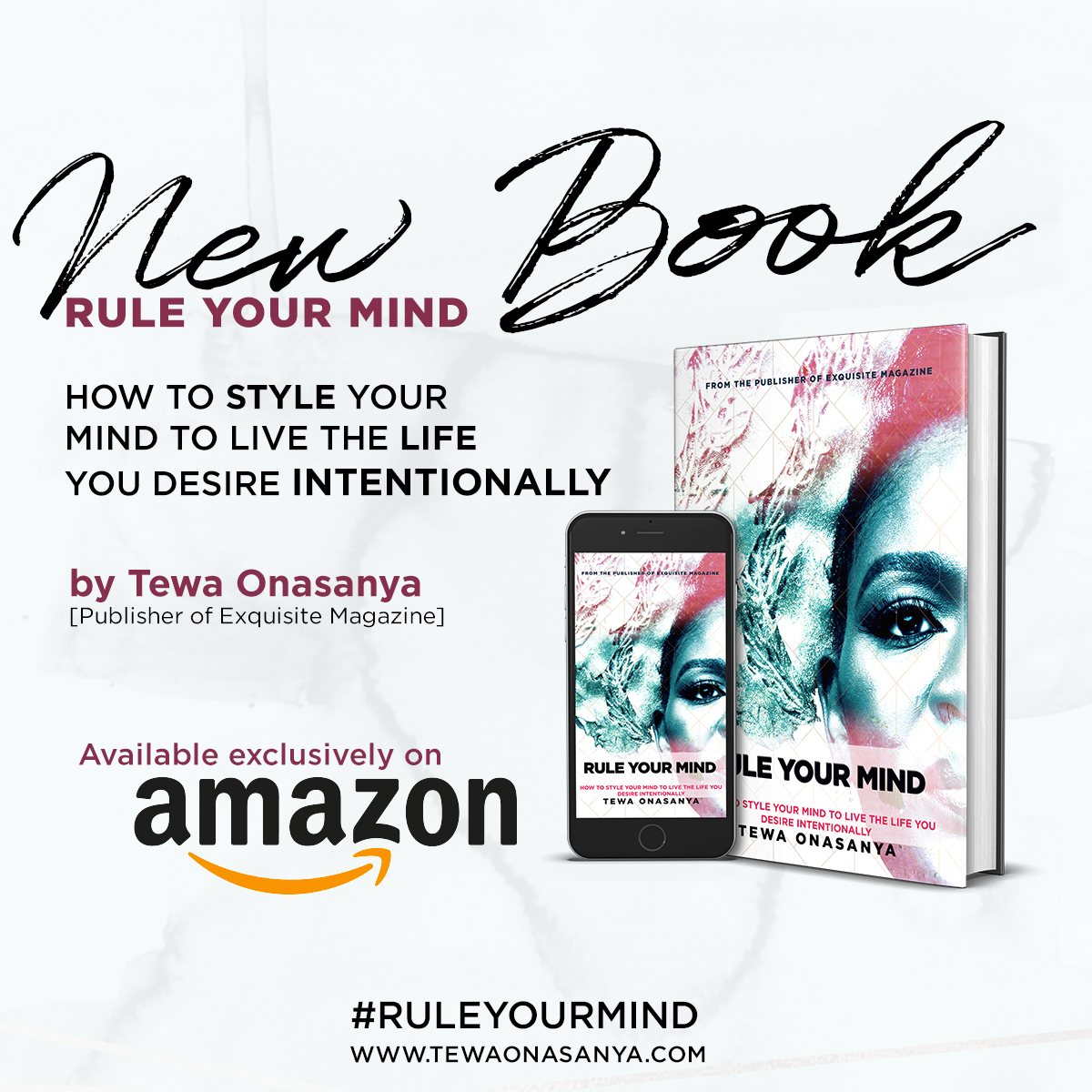 Tewa onasanya- Rule your mind book